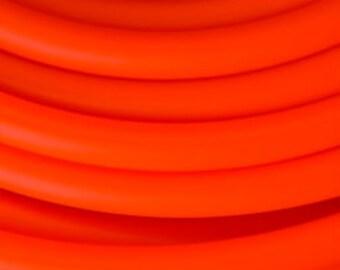 """HDPE Red Rocket (UV) Custom Hoop 5/8"""" & 3/4"""""""