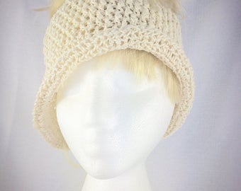 Summer ponytail hat, cotton messy bun hat, crochet sun hat, women sun hat, cotton ponytail hat, wide brim hat, cotton beach hat, summer hat