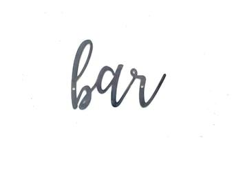 Home bar decor   Etsy