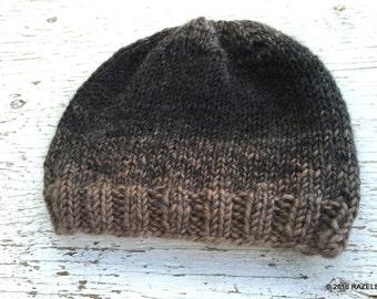 MENS WOOL HAT, Mens Wool Beanie, Mens Beanie, Mens Hats, Wool Blend Hats, HandKnit Wool Hats,  Mens Beanie, Mens Wool Hat