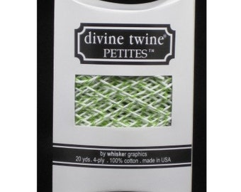 Green Apple Divine Twine Petites™ from Whisker Graphics - 20 Yards