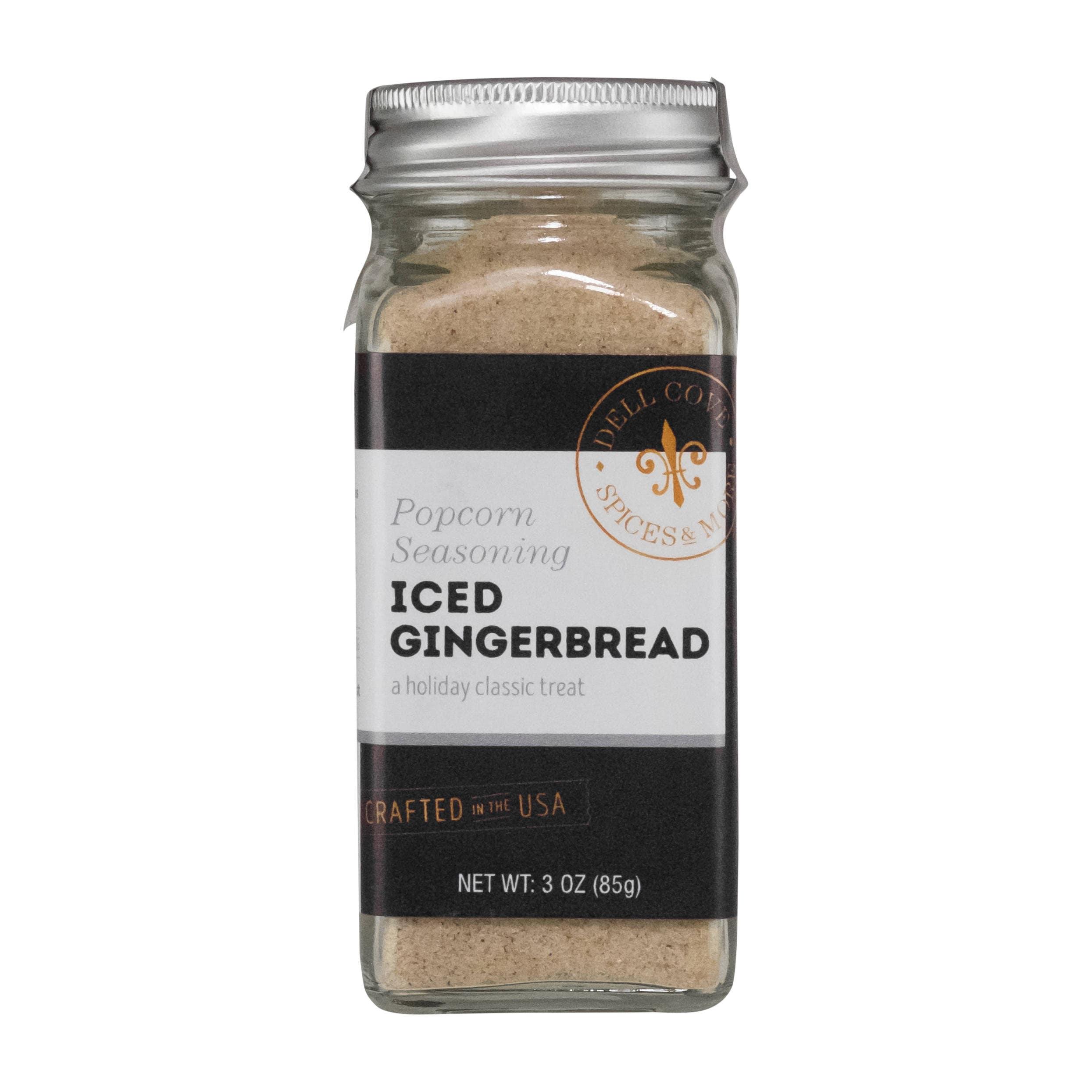 Iced Gingerbread Popcorn Seasoning – Makes a Great Christmas Food Gift Idea !