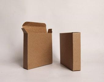 20- 4 1/2 x4 1/2 x 1 inch Kraft Gift Boxes -Kraft Box