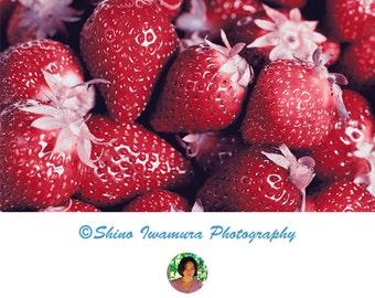 Strawberry Photography Kitchen Decor Wall - Kitchen Decore Kitchen Decor, Kitchen Wall Art Printable