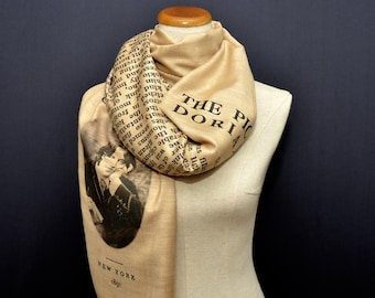 The Picture of Dorian Gray by Oscar Wilde Shawl Scarf Wrap