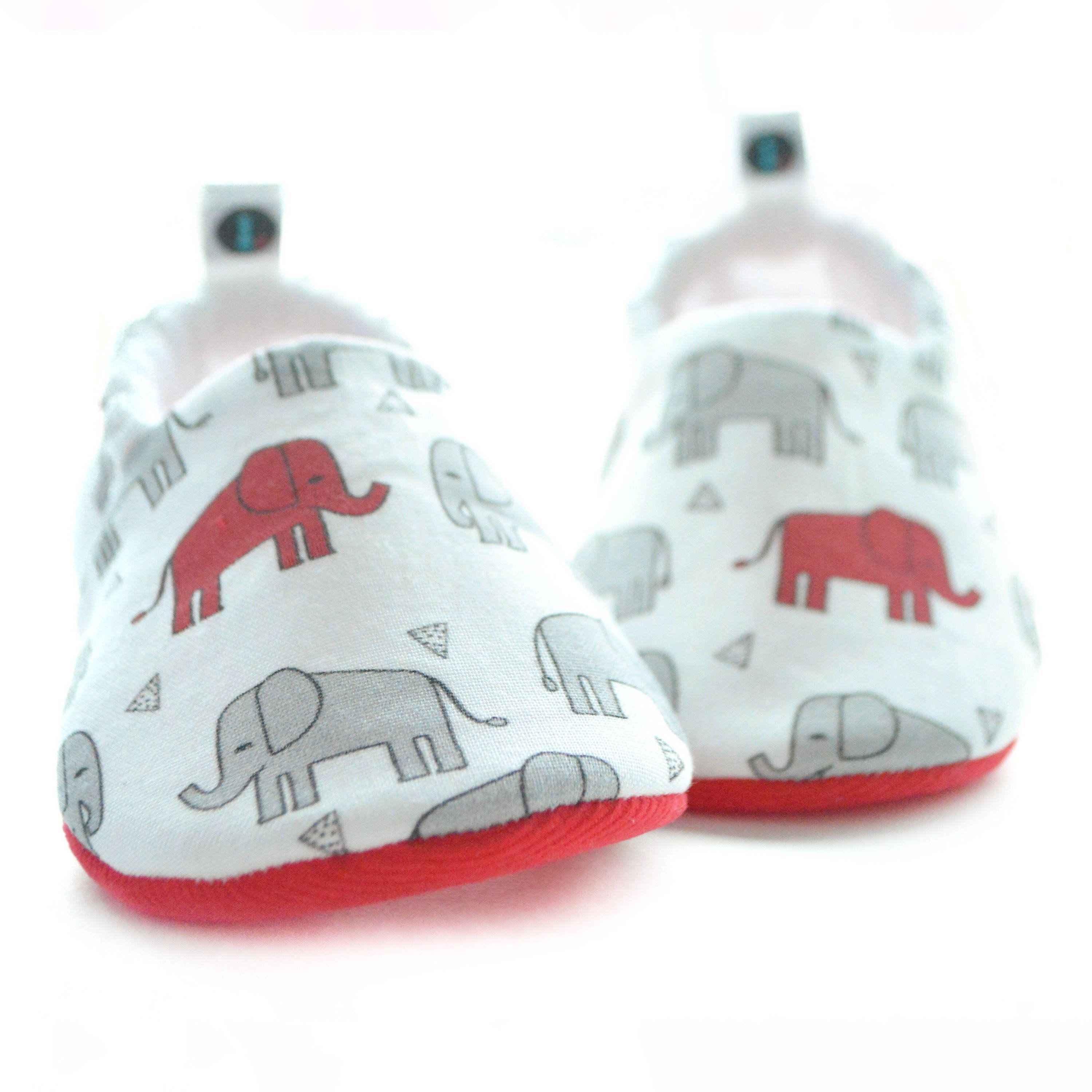 Elephant Baby Booties baby shoes gender neutral baby girl