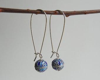 Silver Calliope Earrings