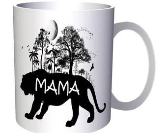 Mama Tiger Wild Nature 11oz Mug u478