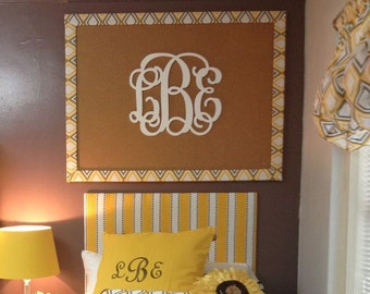Dorm Room Decor // Wooden Monogram Wall Hanging // Dorm Room Ideas // Personalized Gift // Monogrammed Wall Decor // Wall Art Wooden Letters