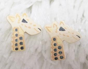 Wild Giraffe Buttons