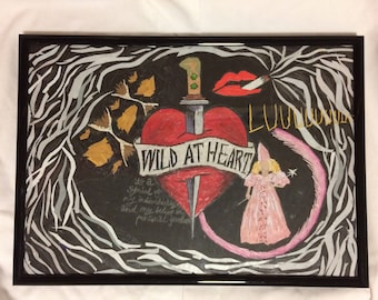 Wild At Heart collage