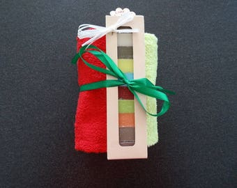 KIT to make - gift towel soaps