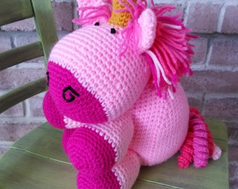 Unicorn Doll | Crochet Unicorn | Stuffed Unicorn | Unicorn Gifts | Crochet Stuffed Unicorn | Unicorns | Crocheted Unicorn