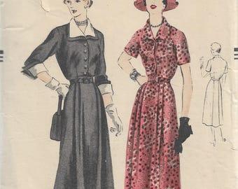 Vogue Sewing Pattern - 1940s  Dress  Pattern - Bust 38, Hips 41 - Vogue Special Design - One Piece Dress - Sewing Pattern - dress pattern