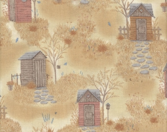 Japanese cotton, Taupe Fabric, DAIWABO CF13070S-B