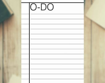 To-do - To do list A4 - Planner - Printable