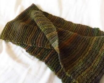 Fertile Ground - Handspun, handknit cowl