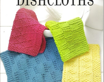 Loom Knit Dishcloths ~  Leisure Arts Book ~ Soft Cover ~  New Book