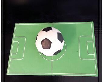Football pie topper