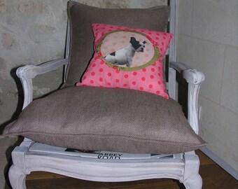 Bergere armchair Louis XV antique style