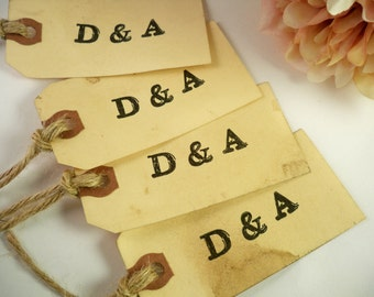50 Vintage Wedding Tags. Anthropologie Travel Theme Wedding Personalized. Save The Date. Wish Tree. Escort Card. Place Card. Rustic. Luggage