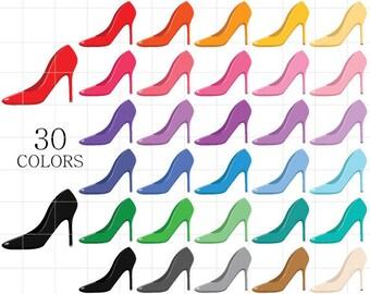 High Heels Clipart, High Heel Shoes Clipart, Shoes Clipart, Stilettos Clipart, Stiletto Heels Clipart, Shoe Clipart, Stiletto Clipart