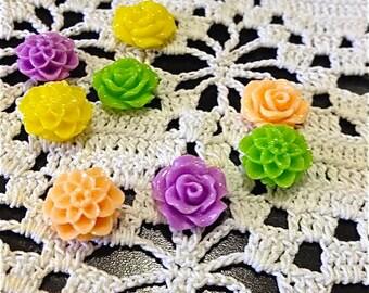 Summer Flower Magnets