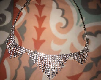 Silver/Gold glam necklace