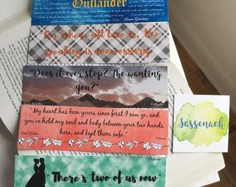 Outlander Bookmarks