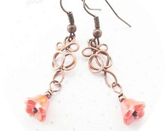 Wire Tutorial, Easy Earring Tutorial, Spring Jewelry Tutorial, Jewellery Tutorial 43