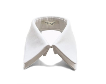 Best Selling Collar, Double detachable collar, white cotton collar necklace