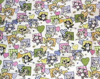 Puppies and Kittens Quilt/Blanket