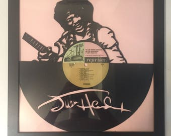 Jimi Hendrix Vinyl Art-Wall Decor