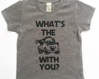 What's the Matter cars tee for infants, toddlers, children