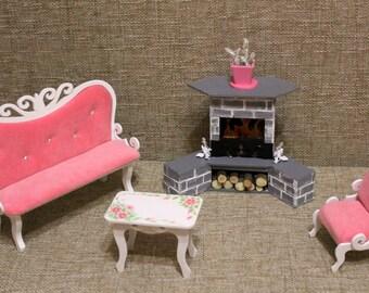 Doll furniture for Monster High, Ever After High, Barbie