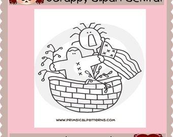 American Annie Basket Pattern - Printable Pattern