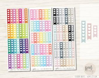 Checklist Flag Stickers #1 - Planner Stickers - FL04-08-12