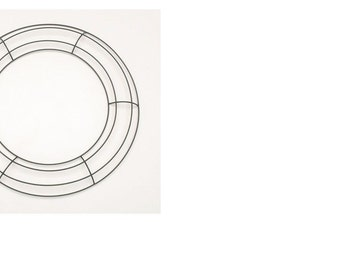 Wire wreath frame 12 in.