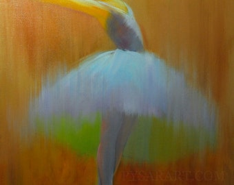 Oil painting canvas art, ballerina painting dancing lady, modern painting contemporary ballet art woman painting