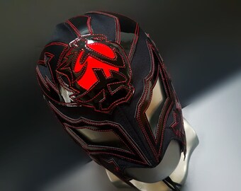 Bushi wrestling mask luchador costume wrestler lucha libre mexican mask maske cosplay