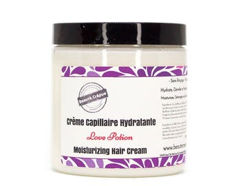 Moisturizing Hair Cream - Love Potion - with mango butter, sweet almond and jojoba oils - 250ml