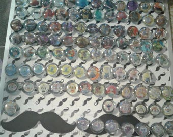 Glass Magnets  (1 inch)