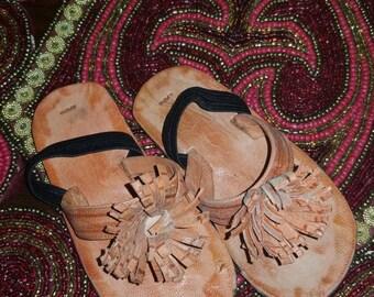 Fulani Baby Sandal