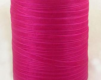 """BULK - Organza Ribbon - 1/4"""" thick (6mm) - 500 yards - Rose"""