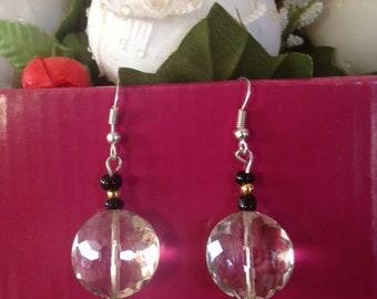 GLASS, EARRINGS, JEWELLERY, Beads,