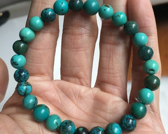 Natural Arizona Kingman Turquoise Bracelet