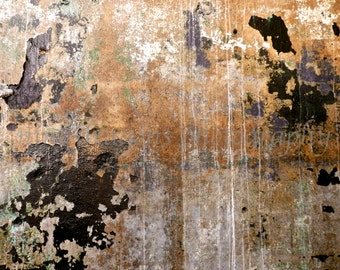 Abstract Photography, Industrial Art, Copper Black Modern Art, Rust Abstract Print, Urban Decay Photo, Wabi Sabi Wall Art,Textured Art Print