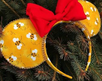 Honey Hunny Mouse Ear Headband