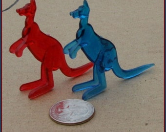 Set of Two 1950s Ringling Bros Barnum and Bailey Circus Animal KANGAROOS