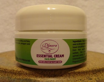 Essential cream for dry/flaky skin skin